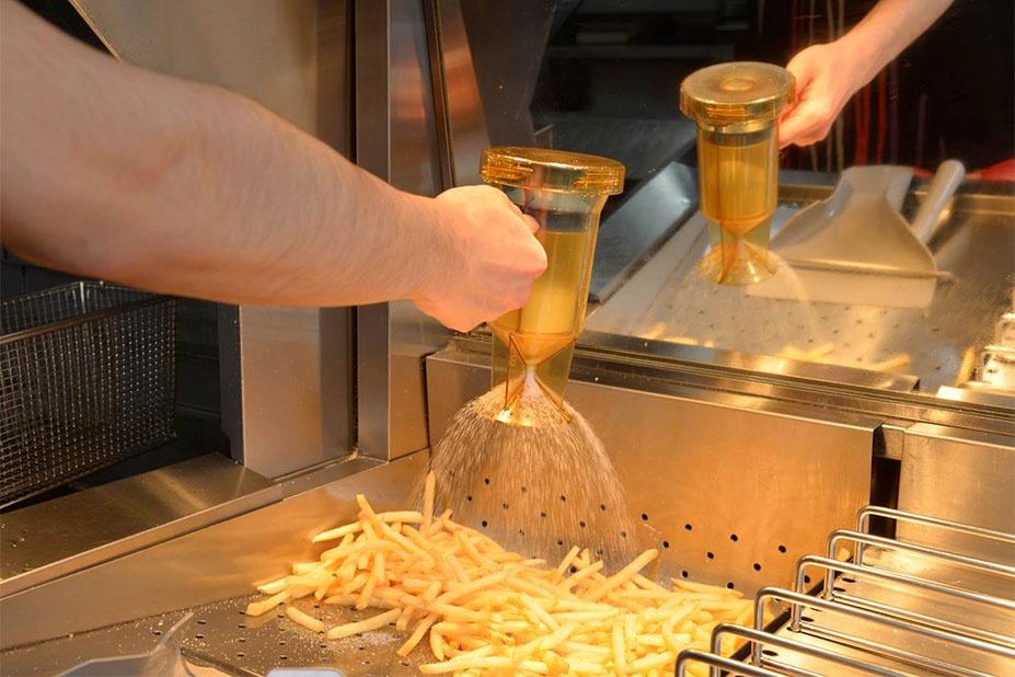 マクドナルド ポテト 揚げたて