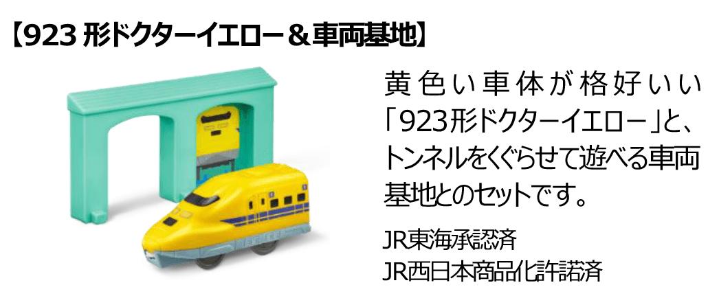 923形ドクターイエロー&車両基地