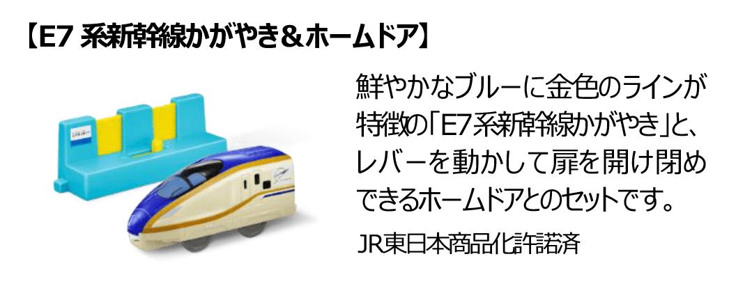 E7系新幹線かがやき&ホームドア