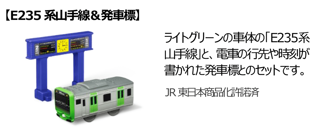 E235系山手線&発車標