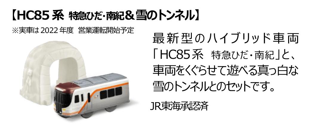 HC85系 特急ひだ・南紀&雪のトンネル