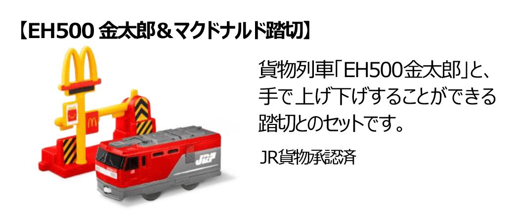 EH500金太郎&マクドナルド踏切