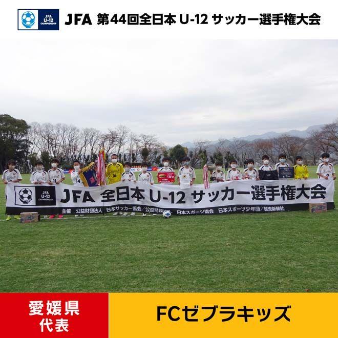 愛媛県 FCゼブラキッズ