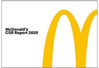 McDonald's CSR Report 2020