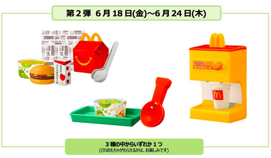 「マックアドベンチャー なりきりマクドナルド」販売概要 第2弾