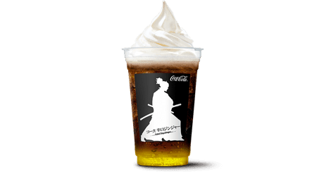 Coke® Float Dry Ginger